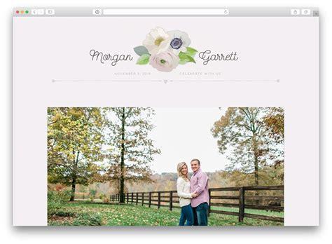10 real couples wedding websites get inspired now ewedding