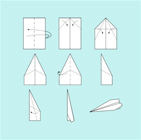 Paper Airplane Fold - a year of fhe year 02 lesson 38 dieter f uchtdorf