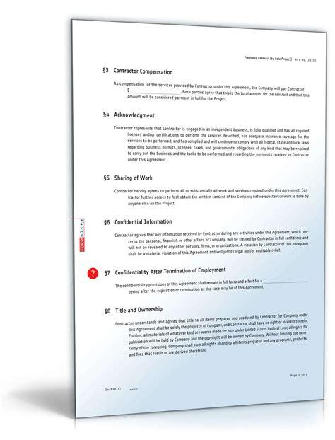 Musterbriefe In Englischer Sprache Freier Mitarbeitervertrag Englisch Muster Zum