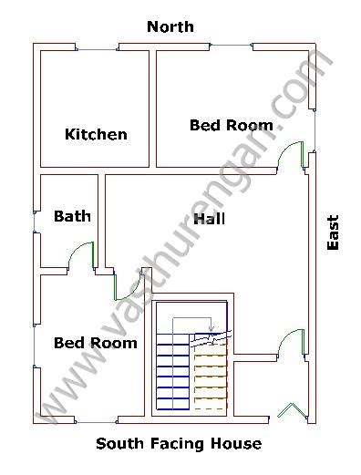 South Facing Vastu House Plans South House Vastu Plan 7 Vasthurengan
