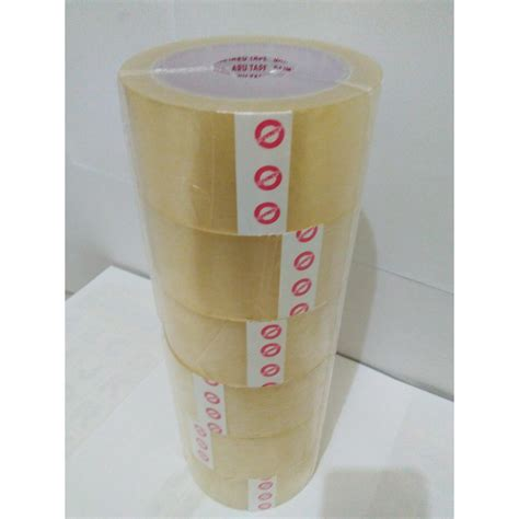 lakban bening daimaru 48mm x 90yard 1 pack isi 6 roll