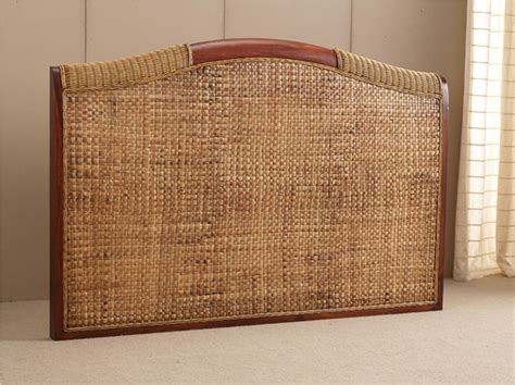 wicker headboard rattan headboard for king size beds rattan creativity