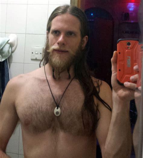 viking braided sideburns journey from short beard to viking jarl in long beards