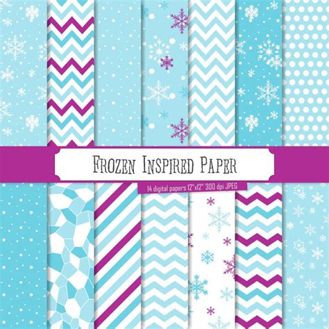 where can i buy paper snowflakes buy 2 get 1 free digital paper frozen inspired patterns