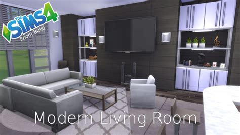 sims 4 wohnzimmer the sims 4 room build modern living room