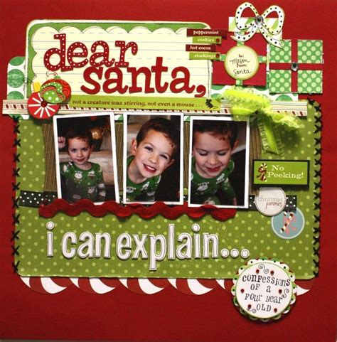 scrapbook layout ideas for christmas christmas scrapbook layout christmas scrapbook