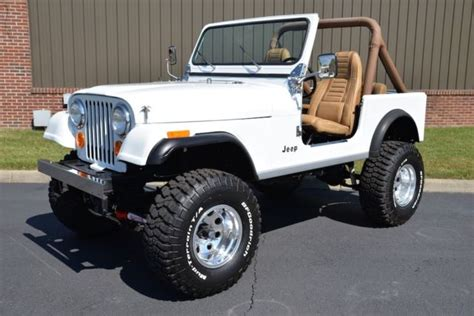 Jeep Cj7 Insulator Silver Alum restored 1986 jeep amc cj7 manual fresh restoration for