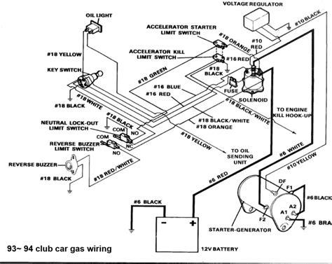 1991 gas ezgo txt wiring diagram ezgo txt light wiring