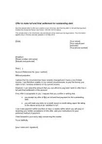 Debt Settlement Offer Letter Template by Best Photos Of Settled In Letter Sle Settlement