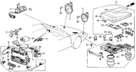 1988 honda accord fuse box wiring diagrams