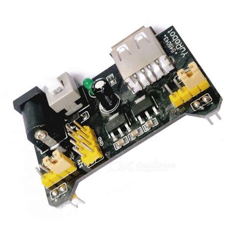 Power Supply 5v 33v Module For Breadboard Mb 102 mb 102 dual 5v 3 3v output breadboard dedicated dc power