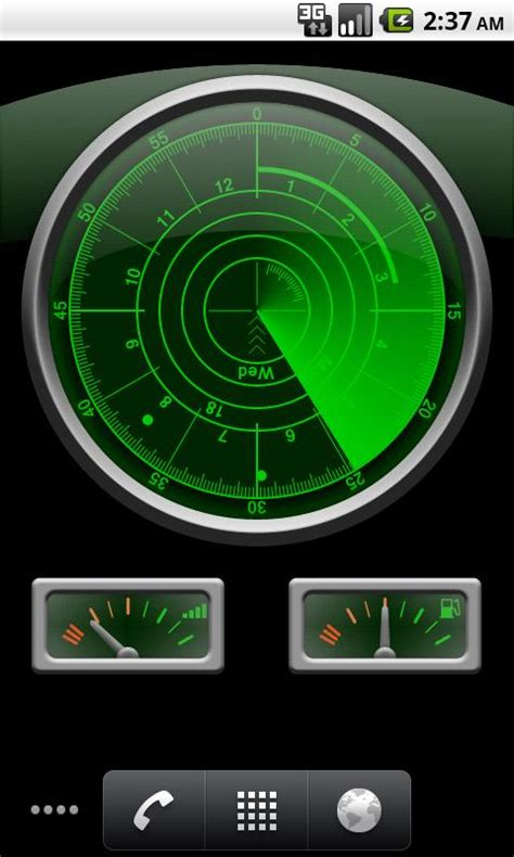 radar clock  wallpaper android apps  google play