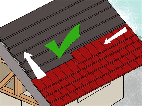 How To Make A Paper Roof - how to build a roof with pictures wikihow