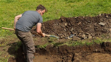 Digging On by Two Digging At Dunluce Castle Digging For Ireland