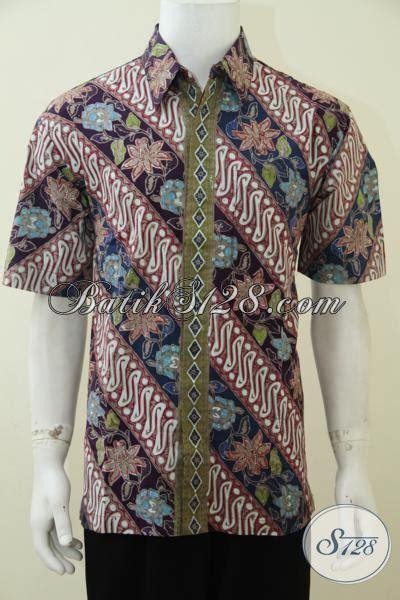 Kemeja Printing Motif Pohon Pria Lengan Pendek Murah busana batik pria lengan pendek kwalitas bagus harga