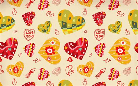 cute background pattern love love pattern backgrounds wallpaper 1680x1050 28111