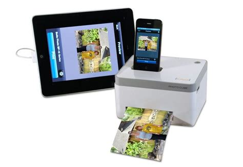iphone printer iphone photo cube printer want for clever stuff birthdays offices
