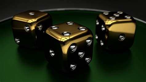 3d wallpaper 1366x768 golden dice windows 10 wallpaper 3d 1366x768 wallpapers