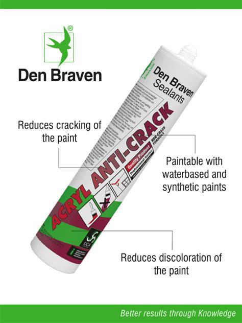 Anticrack Acrylic 1 durch anticrack wird die bildung rissen in der farbe