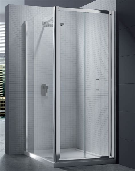 Merlyn 6 Series 4mm Clear Glass Bi Fold Shower Door 700mm Bi Fold Shower Doors 700mm
