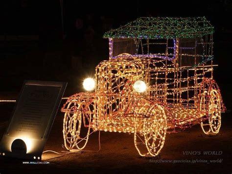 fa la la la festive christmas lights  cars  brighten  holiday season shearcomfort