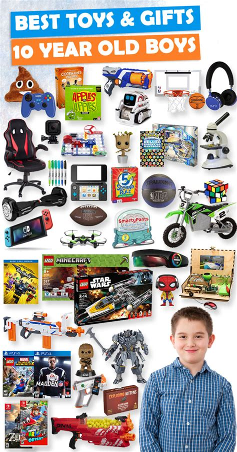 gifts for 10 year boys 2018 buzz