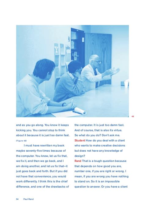 Paul Rand Conversation With Students