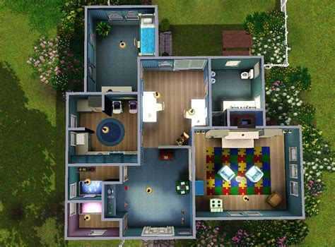 in house daycare mod the sims kiddie korner a daycare house