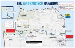 san francisco race map numerous road closures transit detours for san francisco