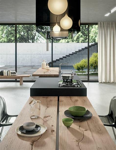 küchengestaltung mit esstisch offene k 252 che ideen so richten sie eine moderne k 252 che ein