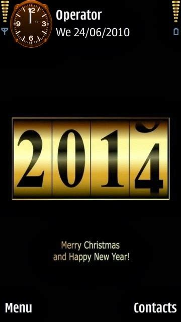 mobile themes new year 2014 new year 2014 themes for mobiles smartphones tablets