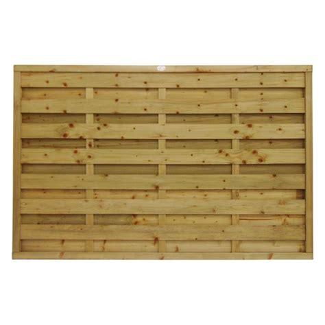 square horizontal fence panel manningham concrete