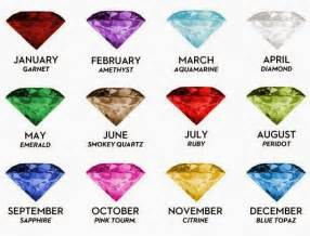 monthly birthstone colors diamonds of the months quot birthstones quot fortune by