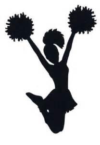 cheerleader silhouette clip art