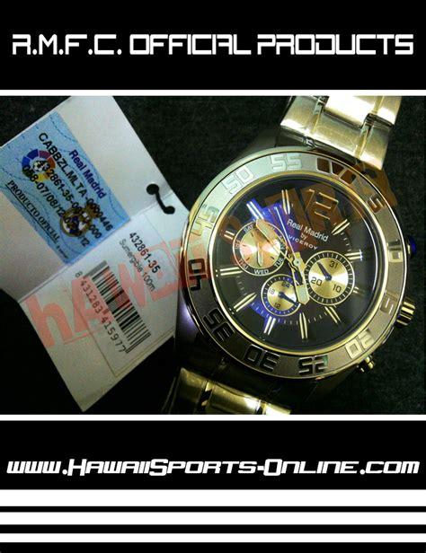 Jam Tangan Bola Real Madrid Toko Olahraga Hawaii Sports Jam Tangan Real Madrid