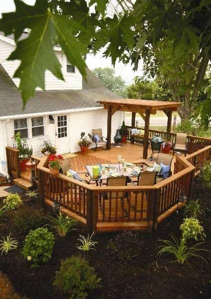 deck in backyard 25 best ideas about backyard deck designs on pinterest deck decks and covered decks