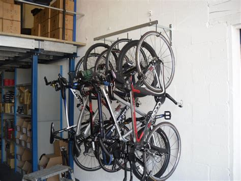 Hanging Bike Rack by Cyclestore 6 Bike Pro Wall Hanging Rack 163 69 99 Storage