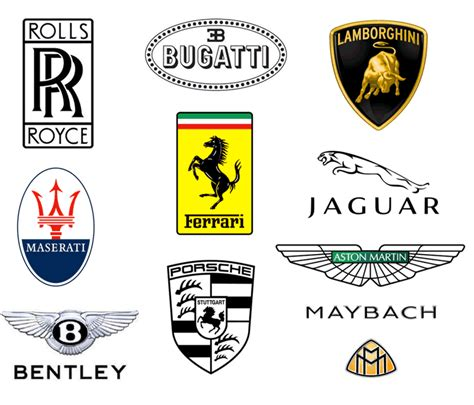 luxury cars logo luxury cars