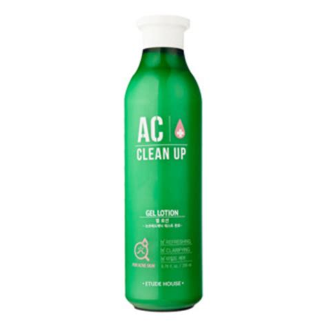 Etude House Ac Clean Up Toner 200ml 100 Original Korea etude house ac clean up gel lotion 200ml