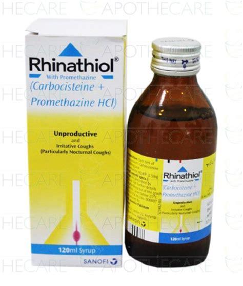 Rhinatiol Promethazine Sirup Rhinathiol Promethazine Syp 120ml