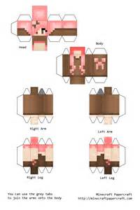 Papercraft Minecraft Skin Generator - paper crafts template minecraft skins