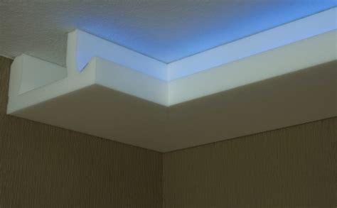 deckenleisten modern stuck led beleuchtung profil zierprofil