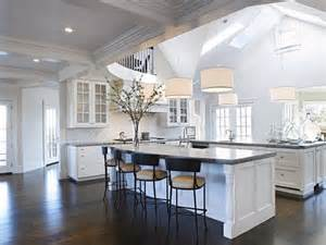 kitchen with vaulted ceilings ideas a spot of sun a vaulted kitchen