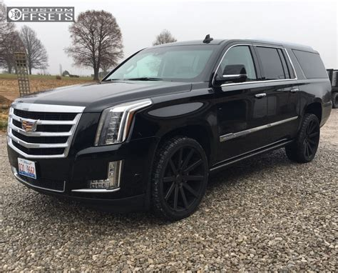 cadillac escalade 2017 custom wheel offset 2017 cadillac escalade esv flush stock