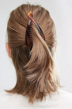 hairstyles easy using claw cls butterfly clip hairstyle for medium hair clips and