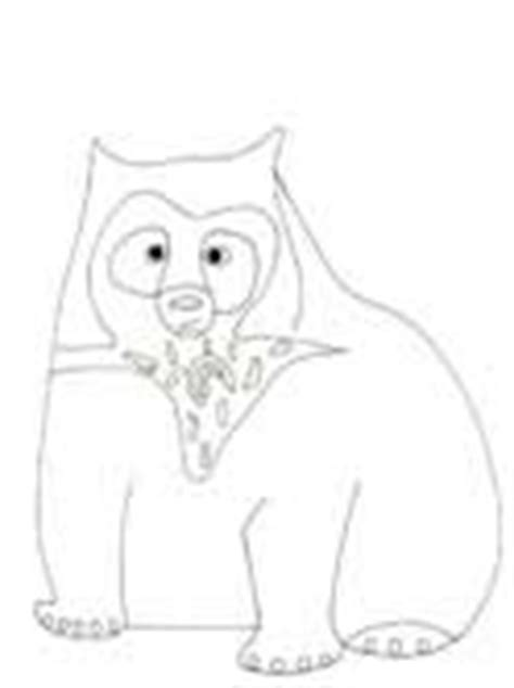 spectacled bear coloring page bear coloring pages