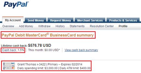 Transfer Gift Card To Paypal Account - earn up to 1 5 cash back loading bluebird with your paypal debit card