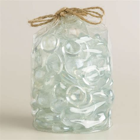 pit glass rocks pit glass rocks pearl white reflective buy glass