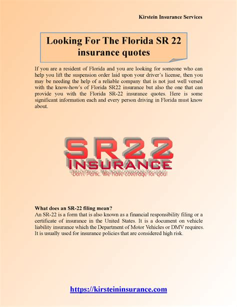 Insurance Quotes Drivers 2 by Looking For The Florida Sr 22 Insurance Quotes 2 Authorstream
