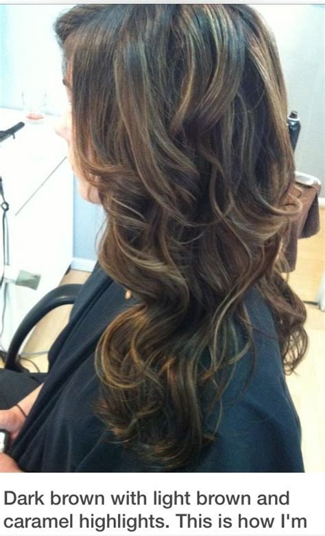 do it yourself highlights for dark brown hair natural dark brown hair with light brown and carmel